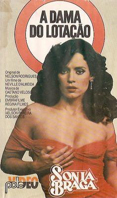 A Dama do Lotação, Sonia Braga Mad Movies, Cult Movies, Old Movie Posters, Film Posters, Sonia Braga, J Jones, Pin Up Girl Vintage, Star Wars, Pulp Fiction