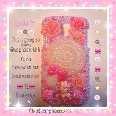 Galaxy s4 custom case!