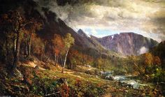 Thomas Hill - Crawford Notch,1872