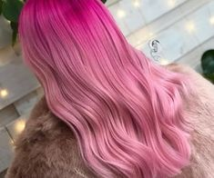 Image discovered by Dane! Find images and videos about hair, long hair and pink hair on We Heart It - the app to get lost in what you love. Colored Weave Hairstyles, Cool Hairstyles, Hairstyle Ideas, Hair Ideas, Pastel Hair, Pink Hair, Fairy Hair, Coloured Hair, Long Wigs