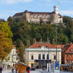 Some sausage, potatoes and wine and Ljubljana captured her.
