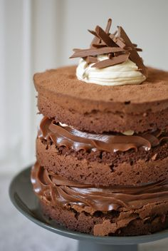 simmer & boyle: Chocolate Hazelnut Fudge Cake