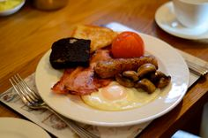 Cumbrian breakfast