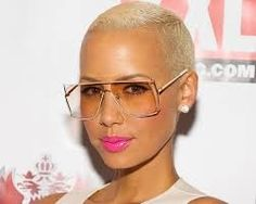 Amber Rose with sunglasses