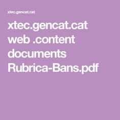 xtec.gencat.cat web .content documents Rubrica-Bans.pdf