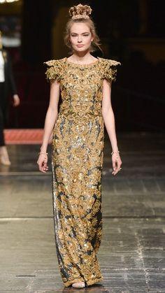 Dolce   Gabbana Alta Moda весна–лето 2016 ИСТОРИЯ МОДЫ Stefano Gabbana dad9196c99f