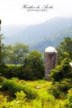 silo in North Carolina