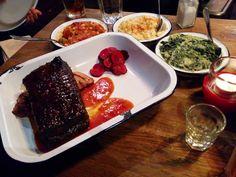 PORKYS BBQ in Camden London Food, Camden, Bbq, Buttons, Barbecue, Barrel Smoker