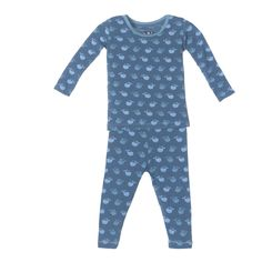 705a2426d4f5 KicKee Pants Pajamas - Twilight Tiny Whale We have sibling matches on this  one and the