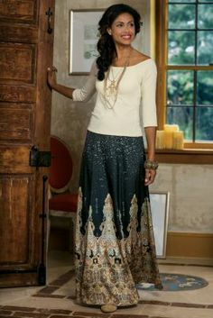 Surya Skirt from Soft Surroundings