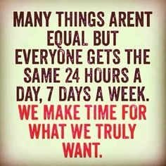 #mondaymotivation make time for what you truly want this week. #fitness #health #healthyeating #fitfam #sweatpink #sweat