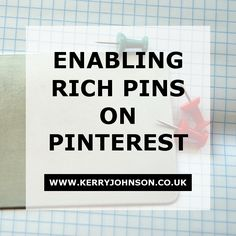 You may already be using Pinterest for your business, but do you have rich pins enabled? Rich pins are pins that display your website name and icon beneath the image, easily directing the user to the source. Pinterest Strategy   Entrepreneurs   Online Marketing   Content Marketing