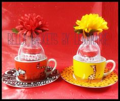 Mother's Day Cappuccino Cup & Saucer  Includes: 5 Milk Chocolate Covered Oreos wrapped in an Organza Pouch. $21.98  bellabaskets@mail.com