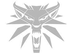1419955be14 J!NX   The Witcher 3 White Wolf Vinyl Sticker Car Stickers