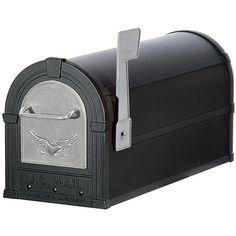 Salsbury Industries Silver/ Eagle Heavy Duty Rural Mailbox