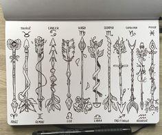 Flechas Zodiacales