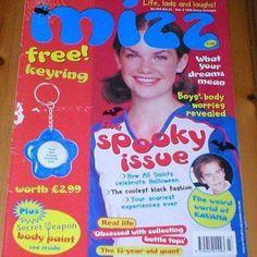 79 Thoughts Every Teenage Girl Had Reading Mizz Magazine