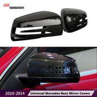Mercedes CLA W117 A class W176 C W204 E coupe W207 W212 CLS W218 GLA X156 W216 Replacement carbon fiber door mirror covers