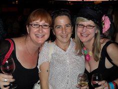 Aimee Barousse, Kim & Sheana Davis enjoying New Orleans!