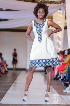Items similar to Wedding Party dress - African print, fit and flare prom dress, african dress, Handmade african dress on Etsy Latest African Fashion Dresses, African Print Dresses, African Print Fashion, Africa Fashion, African Dress, African Attire, African Wear, African Women, Moda Afro