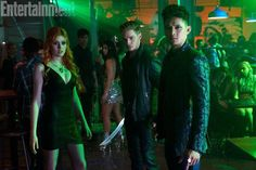 First Look at ABC Family's 'Shadowhunters' – Clary, Jace and Magnus