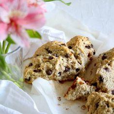 Scones de Chocolate y Naranja. Chai, Muffin, Bread, Cookies, Breakfast, Simple, Easy, Desserts, Recipes