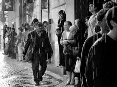 Where? What's going on? What will happen next...  Rui Palha, Street Photography Black and White