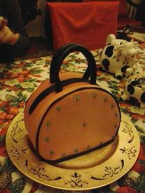 CAKES Y PATCHWORK : TARTA BOLSO