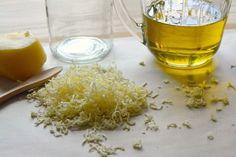 Homemade Beeswax Polish (and skin care product).
