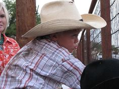 Cowboys start young in Texas and they call the thing Rodeo http://www.texansunited.com/blog/2011/07/18/texas-cowboys-cowgirls-call-rodeo