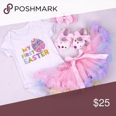 HP ❤️ So adorable!!!! Adorable 1st Easter set Matching Sets