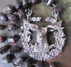 A Crowned Stag by FrenchSentiments on Etsy, Kathy Barrick, French Sentiments
