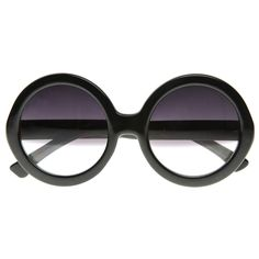 Designer Inspired Round Circle Half Tinted Lens Sunglasses 8511 from zeroUV  Been looking for a pair like this for a while now...