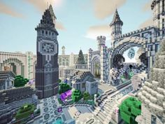 Epic Minecraft creations in stunning time-lapse celebrate new game handbooks