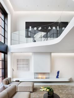 Annie Lo & Torsten Schlauersbach of Haute Architecture - West Village residence, Living Room, New York, NY. - The Cut