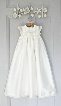 christening gown 'sophia' by adore baby | notonthehighstreet.com