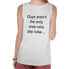 Tuba Girl Tanktop