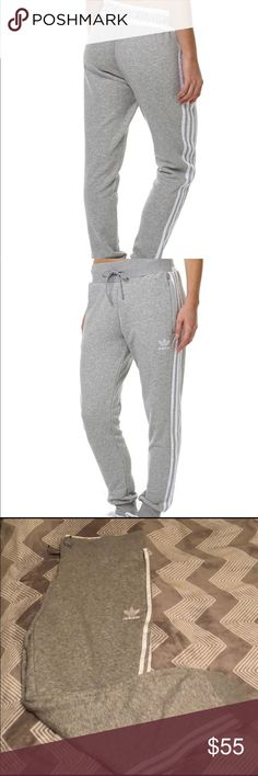 ‼️NEW Adidas Track Pants‼️ ❤️NWT Adidas Track Pants, love these and hard to let go of them but they are too big. I would say they are true to size, they do have stretch to them.  NO Trades or Holds NO modeling due to item not fitting  NO negotiations in comments, submit reasonable offer through offer button ⭐️Low Ballers WILL be ignored                         ⭐️Bundle and save⭐️10% off bundles 2+ ⭐️I try my best to ship same or next day  ⭐️Please accept and rate within 24hrs Smoke Free Pet…