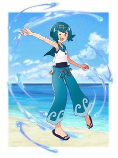 Pokemon Alola, Ps I Love, Sun Moon, Lana, Character Art, Otaku, Random Stuff, Anime, Creations