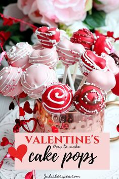 Ultimate guide, how to make chocolate cake pops for Valentine's day! great to make with kids Valentines Cake Pops Recipe, Valentines Baking, Valentine Day Cupcakes, Valentines Day Chocolates, Valentine Chocolate, Valentines Day Desserts, Valentines Cakepops, Chocolate Cake Pops, Chocolate Strawberries