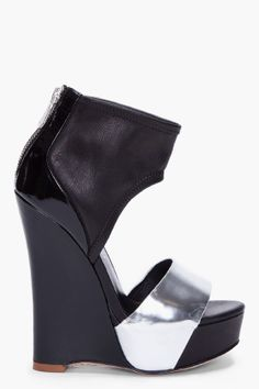 why do men put women in these ridiculously high heel shoes. I would like to see them walk in a pair of these:)