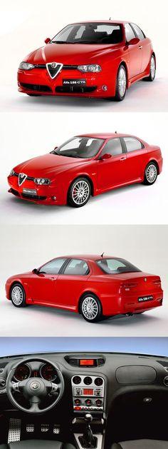 2001 Alfa Romeo 156 GTA / Busso 3.2l 247hp V6 / Italy / red / 17-378