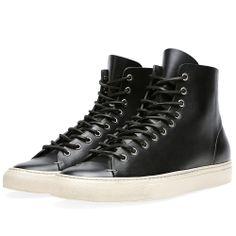 d5299996c2b5 Buttero Tanino Mid Leather Sneaker (Black   Sand)