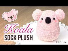 DIY Koala Plush!! Make a Cute DIY Toy using Socks!, My Crafts and DIY Projects