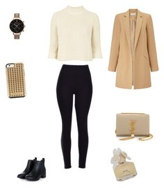 """""""Untitled #2532"""" by smaranda-panfil ❤ liked on Polyvore featuring Topshop, Miss Selfridge, Yves Saint Laurent, Olivia Burton, Rebecca Minkoff, Marc by Marc Jacobs, women's clothing, women, female and woman"""