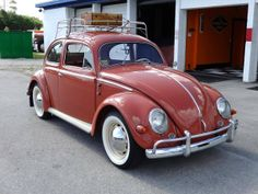1957 Volkswagen Beetle Coupe  FANTASTIC color and resto!