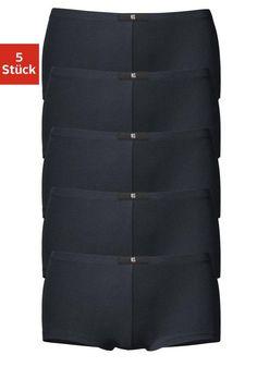 H.I.S sportliche Panties (5 Stück), »Cotton made in Africa« ab 19,99€. Basic Panty im 5er-Pack, Logo-Label vorn am Bund, Elastisches Bündchen bei OTTO