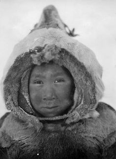 Atootoo, an Inuit child 1929