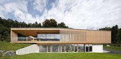Superbe maison semi-enterrée autrichienne offrant un magnifique panorama  | Construire Tendance