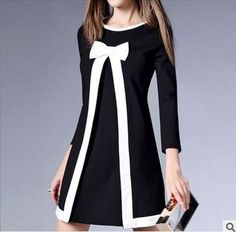2016 Elegant 3/4 Sleeve Dress